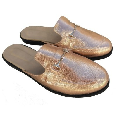 mules bronce mujer talles especiales