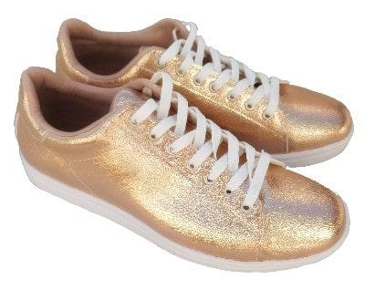zapatillas bronce mujer